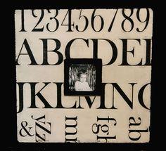 Typography love with #alphabet stencils