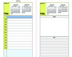 Day Planner MindMap Schedule Printable By Secretowlsociety