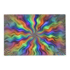Mystic Vibrations Laminated Placemat