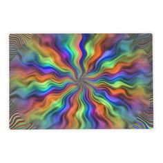 Mystic Vibrations Laminated Placemat