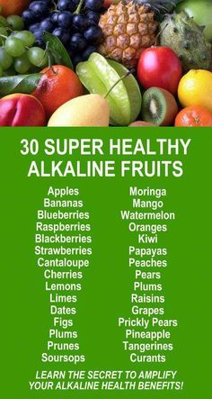 655fe4858a 30 Super Healthy Alkaline Fruits. Learn more about the potent alkaline  rich, antioxidant loaded