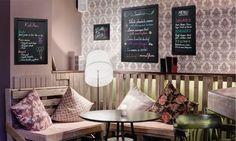 Securit woody wall chalkboard - teak - choose from 5 sizes Coffee Latte Art, Creta, Shop Window Displays, Shop Signs, Woody, Teak, Chalkboard, Architecture Design, Wall Lights