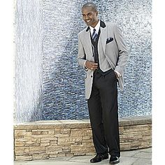 Houndstooth 3-piece Suit from Seventh Avenue ®