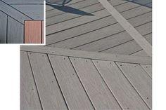 Des dalles composite pour la terrasse
