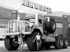 1959 How to sell a Kenworth 963 truck How big are your tires? Big Rig Trucks, Cool Trucks, Semi Trucks, Lifted Trucks, Pickup Trucks, 6x6 Truck, Monster Trucks, Strange Cars, Kenworth Trucks