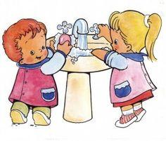 programacion higiene infantil. Hábitos