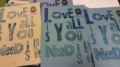 Love is all you need – Letterpress på Rundqvist & Co