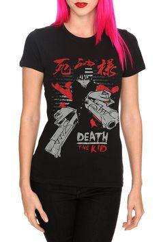 Soul Eater Death The Kid Girls T-Shirt