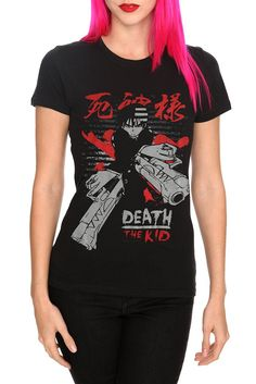 Soul Eater Death The Kid Girls T-Shirt