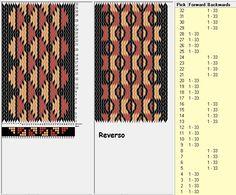 33 tarjetas, 3 colores, secuencia 4F-4B // sed_281a diseñado en GTT༺❁