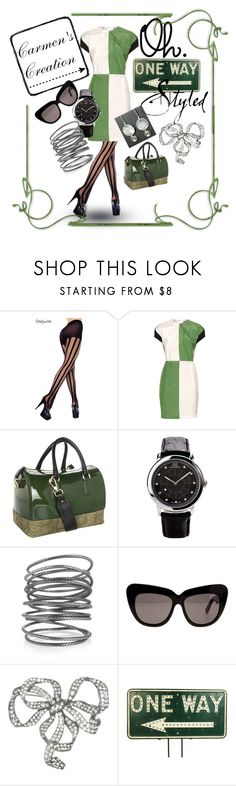 """Journi's Oh! One Way Style"" by carmen-ireland ❤ liked on Polyvore featuring Acne Studios, Furla, 88 RUE DU RHONE, Bottega Veneta, House of Harlow 1960, Ben-Amun and Vintage One"
