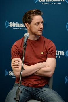 James McAvoy-- look at those arms!!!