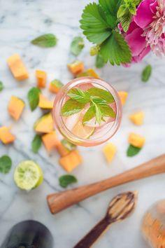 Rosé Spritzer recipe | Vegetarian Ventures