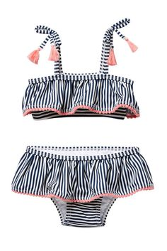 Jessica Simpson 2-Piece Swimsuit. Those little tassels are too cute! #ad