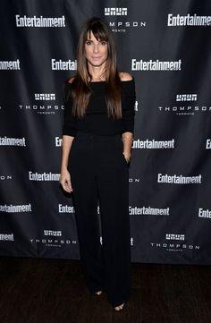 Pin for Later: Désolé NYFW — Mais Il y Avait des Stars Tout Aussi Stylées au Festival du Film de Toronto Sandra Bullock