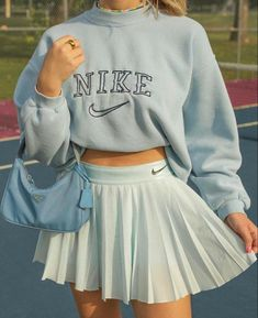 Adrette Outfits, Cute Skirt Outfits, Indie Outfits, Preppy Outfits, Teen Fashion Outfits, Retro Outfits, Cute Casual Outfits, Look Fashion, Stylish Outfits