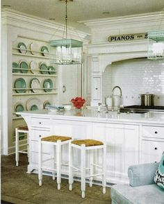 The Zhush: Seven Inspiring White Kitchens