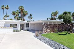 Canyon View Estates home, Palm Springs, designed by William Krisel, 1962.