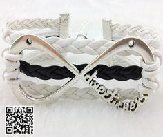 One Direction Infinity Bracelet forever Directioner by Carlydiy, $0.99