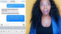"PRANKING MY EX ""ting"" WITH SONG LYRICS (watch till the end)!!"