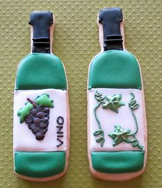 images of wine bottle cookies | Wine Bottles | Flickr - Photo Sharing!