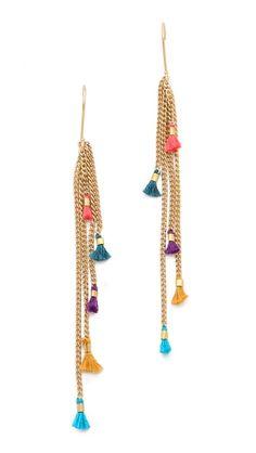 Shashi Lilu Chain Earrings