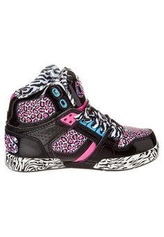 Osiris Shoes High Tops   Osiris NYC83 - High-top trainers - black