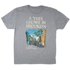 A Tree Grows in Brooklyn book cover t-shirt - this shop sells clothing featuring book cover art!