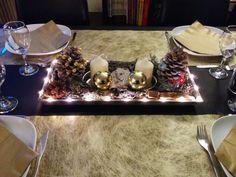 Mon centre de table de Noël