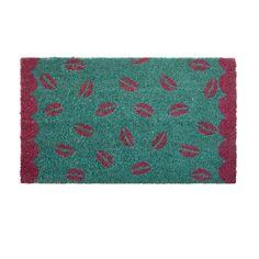 Coir Doormat Kiss Print RICE
