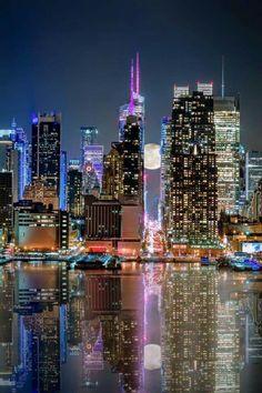 Modal Scarf - NY City lights by VIDA VIDA 0GE1Hep