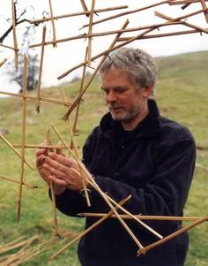 """Andy Goldsworthy. """"Ideas must be put to the test. That's why we make things, otherwise they would be no more than ideas. There is often a huge difference between an idea and its realization."""""""