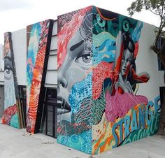 Tristan Eaton in Miami, Florida, USA, 2016, detail