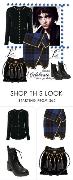 """""""Celebrate your good days... ;-)"""" by marastyle ❤ liked on Polyvore featuring Balmain, Madden Girl and Miu Miu"""