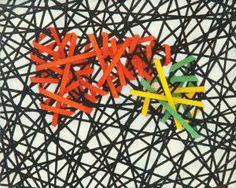 Piccolo Fatto - 2002 Acrilico su tela - 20 x 25 Firmato e titolato in basso e sul retro In cornice  Luciano De Liberato pagina di Arcadja