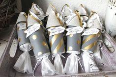 """""""Happy New Year 2015"""" - Stampin´ Up! Artisan DesignTeam BlogHop 01.01.2015 - Silvester-Deko mit viel Gold und Silber und Glitzerpapieren Detailbild6"""