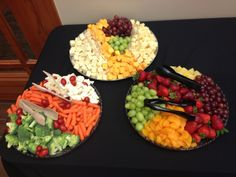 Beautiful party trays are perfect for any type of event!