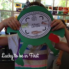 Animals Gone Wild! Lucky to Be in First!: Animals Gone Wild! Science Lessons, Teaching Science, Science Activities, Science Projects, Teaching Tips, Science Fun, Life Cycle Craft, April Preschool, Lifecycle Of A Frog