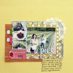 Another gorgeous layout by Stephanie Howell.
