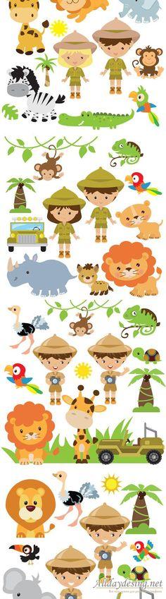 Safari illustration - Vectors