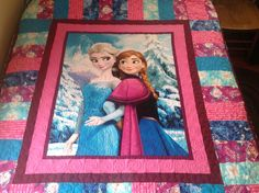 Frozen quilt almost done!