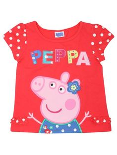 Peppa Pig spot t-shirt £9.00 Chrissy would love