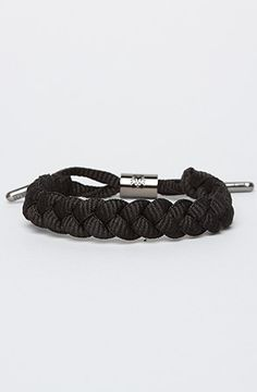 The Shoelace Bracelt in The Merq by Rasta Clat   www.karmaloop.com use code: olive for 20% off