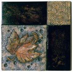 Decorative Wall Plaques nature bas relief | henfeathers original decorative rose wall