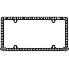 Harley Davidson 174 3d Willie G Skull License Plate Frame