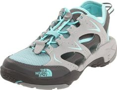 North Face Hedgefrog II Sports Sandals Shoes Gray Womens