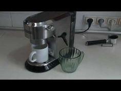 Чистим от накипи кофеварку DeLonghi Dedica EC 680 Drip Coffee Maker, Espresso Machine, Kitchen Appliances, Youtube, Espresso Coffee Machine, Diy Kitchen Appliances, Home Appliances, Coffee Making Machine, Kitchen Gadgets