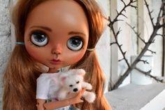 Zara ♡❤ #etsy shop: OOAK Blythe doll, Zara Custom art blythe doll by janasOOAKblytheDolls, dolls #blythedoll #ooakblythedoll #blythe https://etsy.me/2GMrNBn