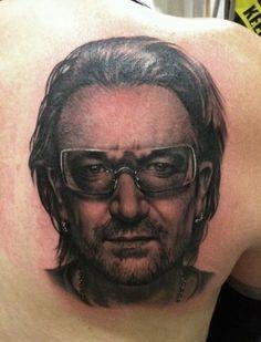 Bono Tattoo by Bob Tyrrell | Bob Tyrrell | Pinterest