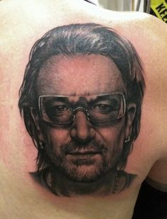 Bono Tattoo by Bob Tyrrell | Bob Tyrrell | Pinterest
